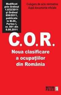 C.O.R. Noua clasificare a ocupatiilor din Romania [0]