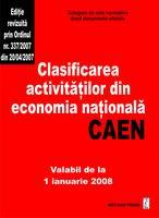 Clasificarea activitatilor din economia nationala-CAEN [0]