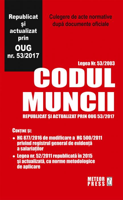 Codul Muncii 2017 [0]