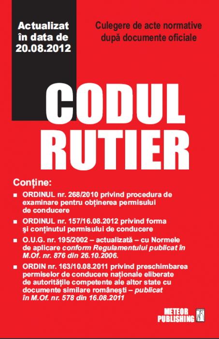 Codul rutier 2012 [0]