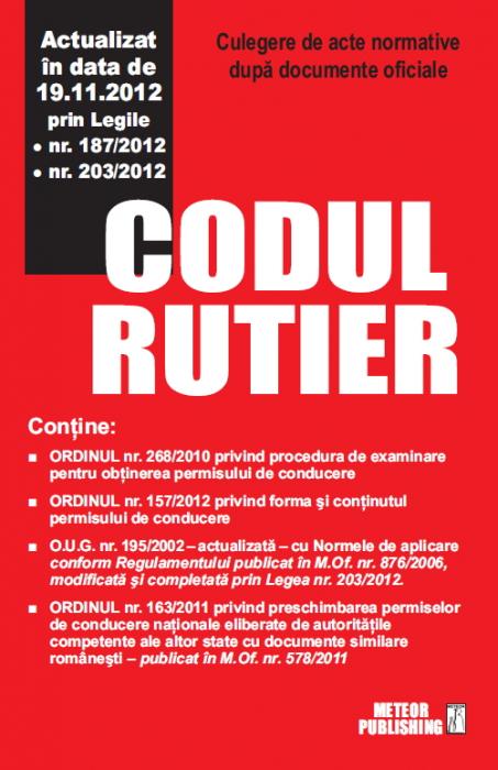 Codul rutier actualizat 19 [0]