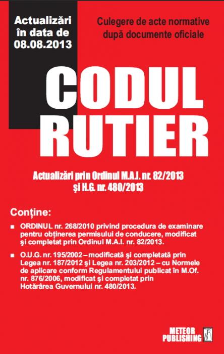 Codul rutier actualizat 2013 [0]