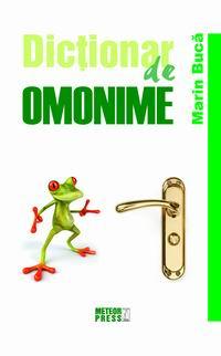 Dictionar de omonime [0]