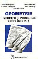 Geometrie-exercitii si probleme pentru clasa a IX-a [0]