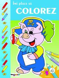 Imi place sa colorez. Vol. IV (coperta albastra) [0]