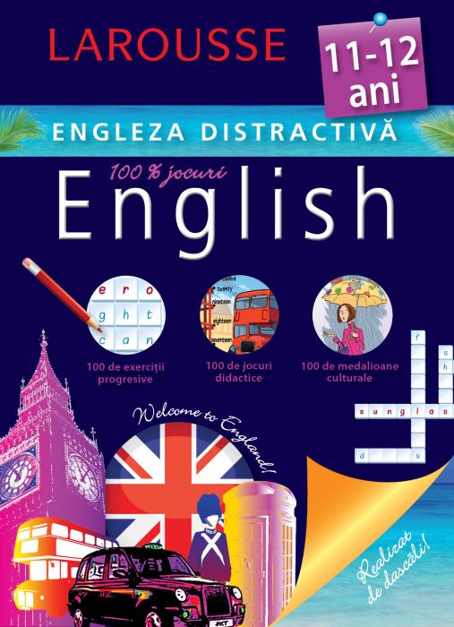 Larousse. Engleza distractiva 11-12 ani [0]