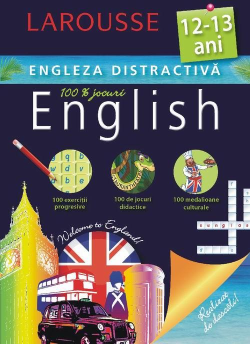 Larousse. Engleza distractiva  12-13 ani [0]