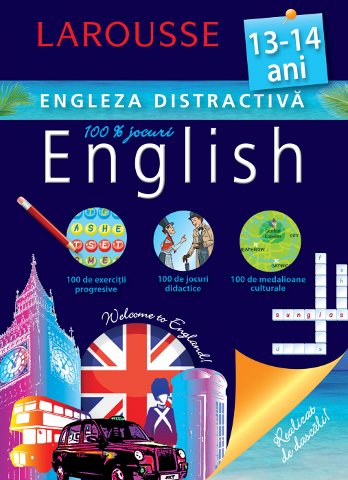 Larousse. Engleza distractiva 13-14 ani [0]