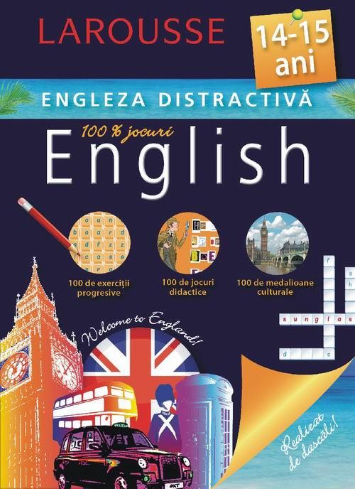 Larousse. Engleza distractiva 14-15 ani [0]