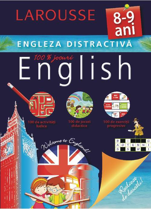 Larousse. Engleza distractiva 8-9 ani [0]