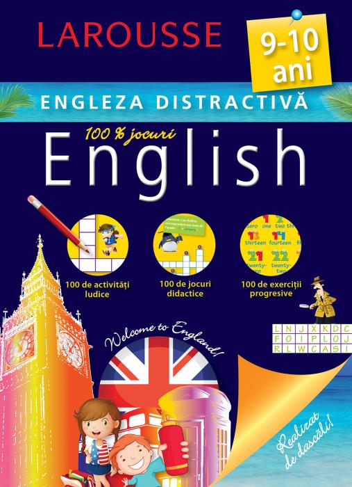 Larousse. Engleza distractiva 9-10 ani [0]