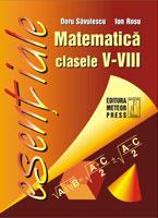 Matematica - formule utile pentru elevii claselor V-VIII [0]