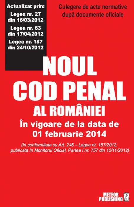 Noul cod penal [0]