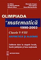 Olimpiada de matematica 1990-2003 Clasele V-VIII [0]