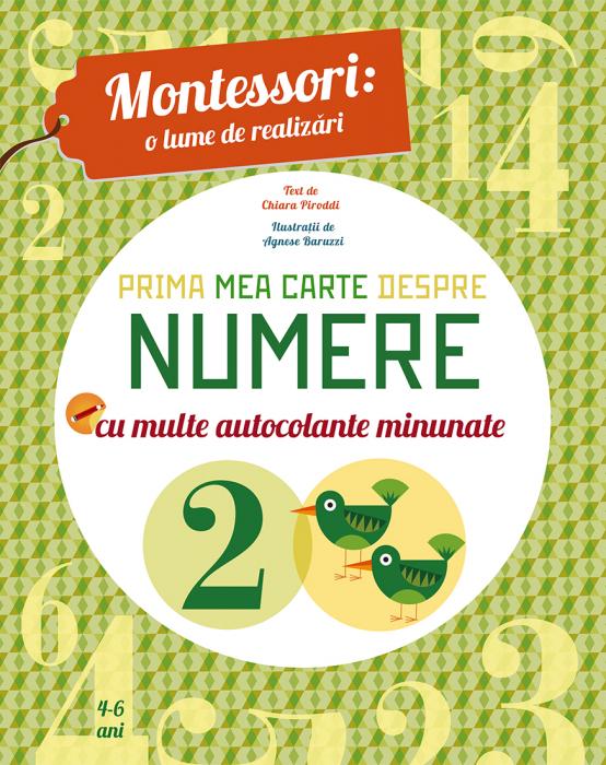 Prima mea carte despre numere Montessori [0]