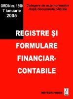 Registre si formulare financiar-contabile [0]