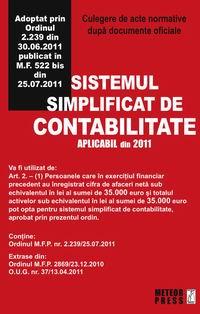 Sistemul simplificat de contabilitate [0]