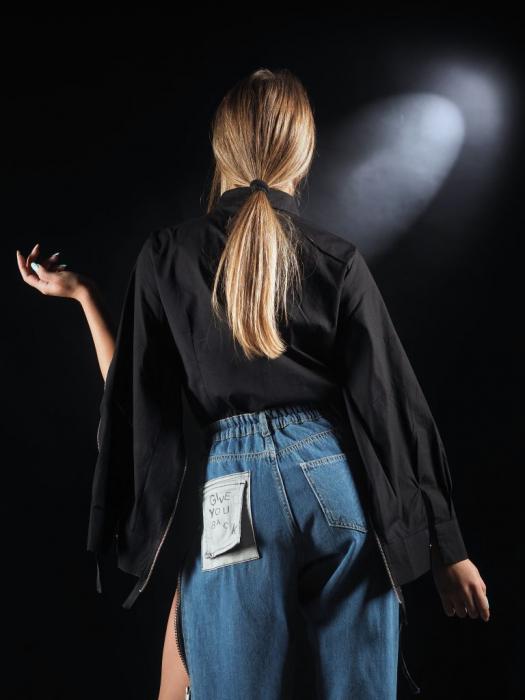 Body Tip Camasa Accesorizat Cu Fermoare [3]