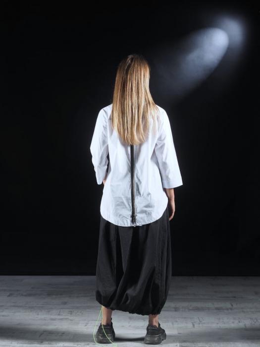 Camasa alba cu fermoar pe spate [5]