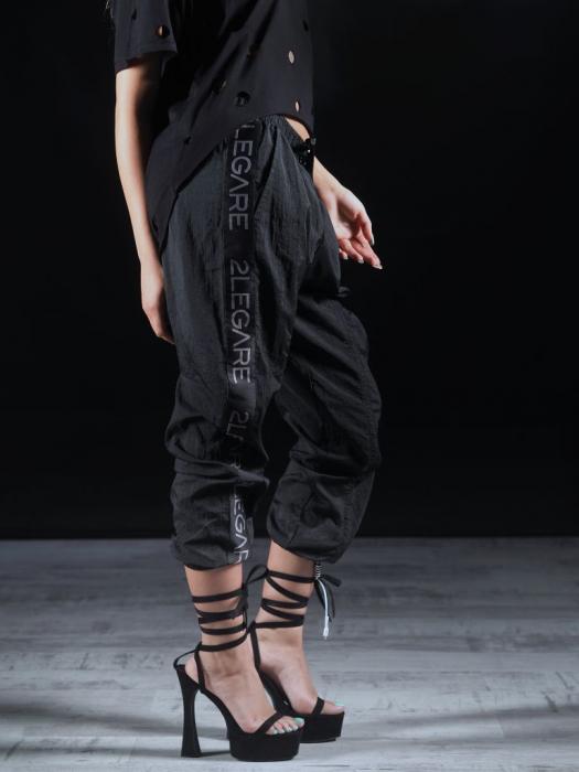 Pantalon Fas Negru 2LEGARE [2]