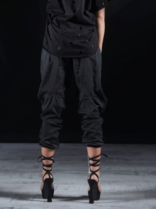 Pantalon Fas Negru 2LEGARE [3]