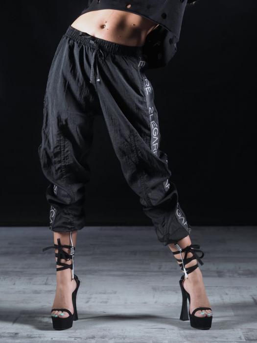 Pantalon Fas Negru 2LEGARE [0]