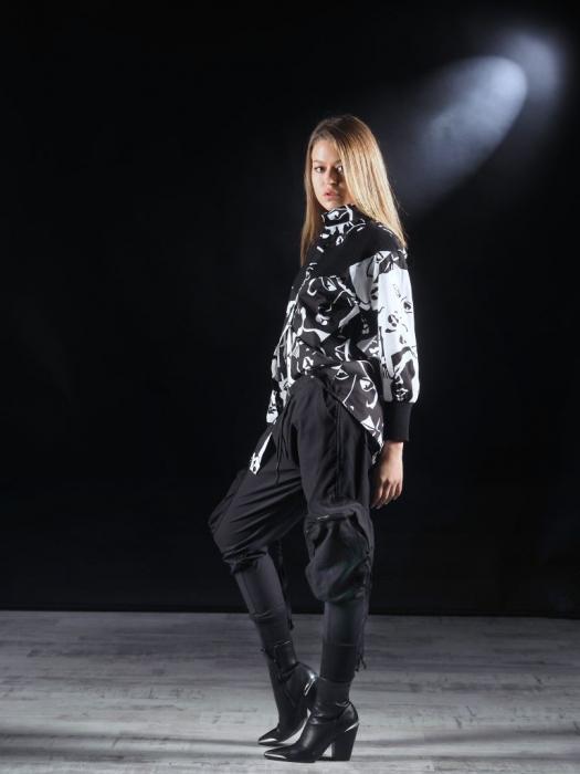 Pantalon Negru Umbrela [1]