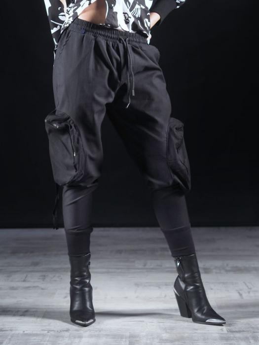 Pantalon Negru Umbrela [2]