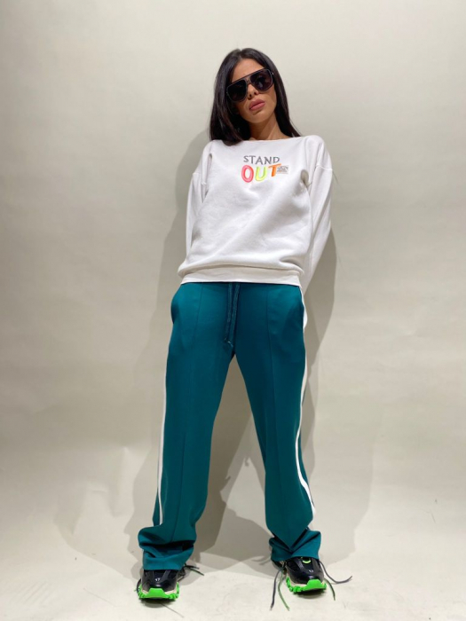 Tinuta Bluza Si Pantalon Stand Out Verde [0]
