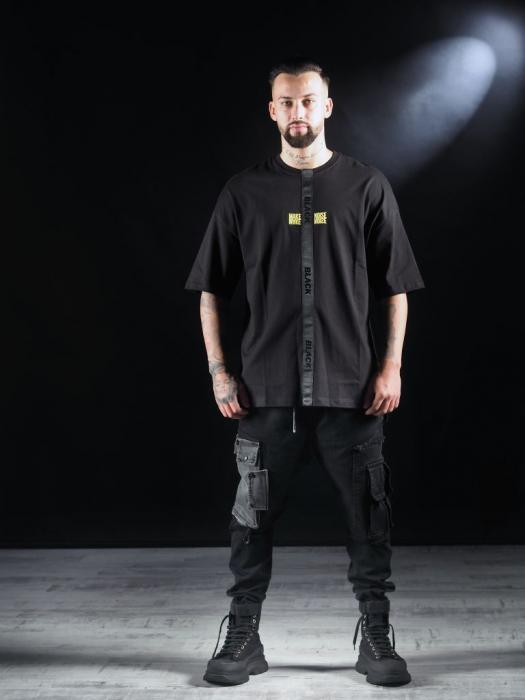 Tricou Negru Glitch [2]