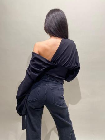 Bluza Neagra Bumbac [3]