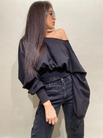 Bluza Neagra Bumbac [0]