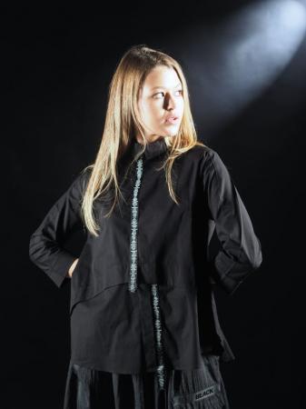 Bluza Neagra Cu Benzi [0]