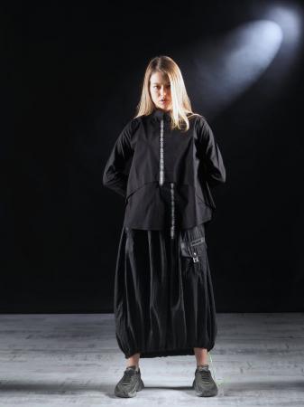 Bluza Neagra Cu Benzi [2]