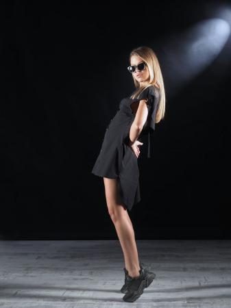 Bluza Neagra Super Dimensionata Accesorizata Cu Fermoare [4]