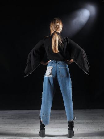 Body Tip Camasa Accesorizat Cu Fermoare [7]