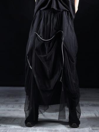 Fusta Tull Negru [0]