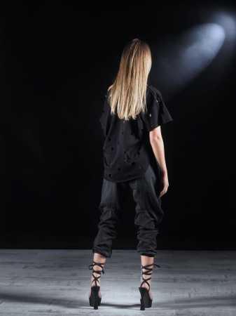 Pantalon Fas Negru 2LEGARE [7]