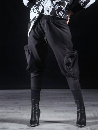 Pantalon Negru Umbrela [0]