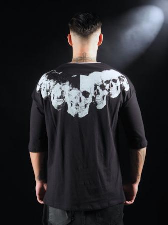 Tricou Negru Craniu [1]
