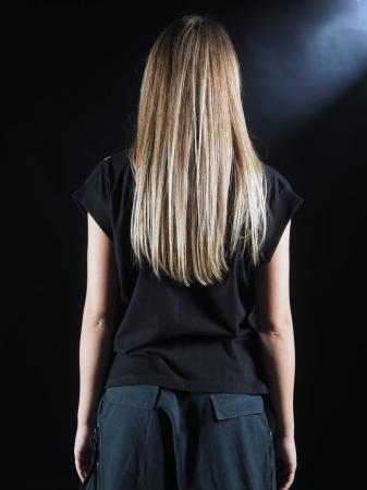 Tricou Negru Printat [3]