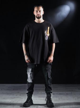 Tricou Negru Umbrela [2]