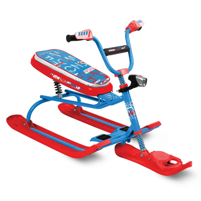 Sanie scuter Nika - Snowdrive - Albastru [0]