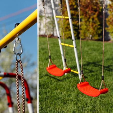 Loc de joaca ROMANA family fitness Plus cu leagan de plastic [3]