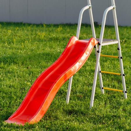 Loc de joaca ROMANA family fitness Plus cu leagan de plastic [4]