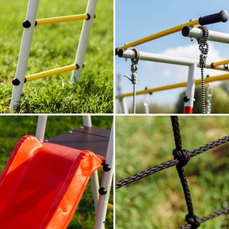 Loc de joaca ROMANA family fitness Plus cu leagan de plastic [2]