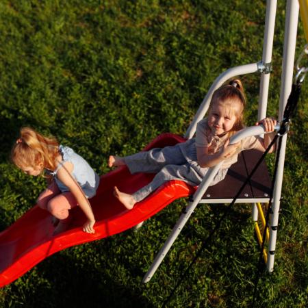 Loc de joaca ROMANA family fitness Plus cu leagan lant [3]