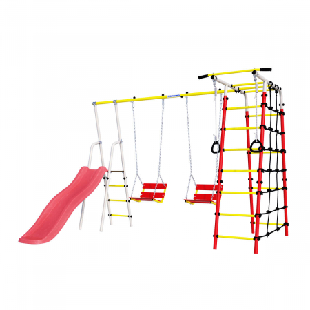 Loc de joaca ROMANA family fitness Plus cu leagan lant [0]