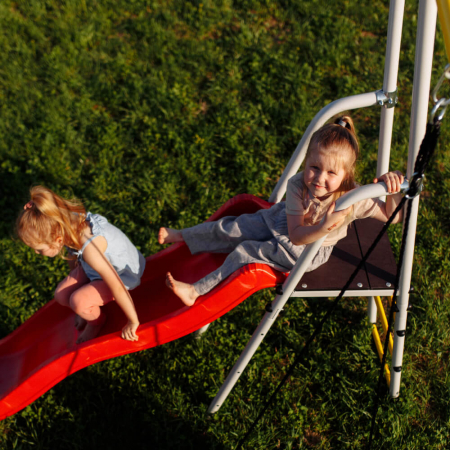 Loc de joaca ROMANA family fitness Plus cu leagan tip barca [5]