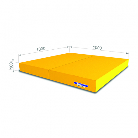 Saltea  moale (Mat) 1000 * 1000 * 100, 2 adăugiri [0]